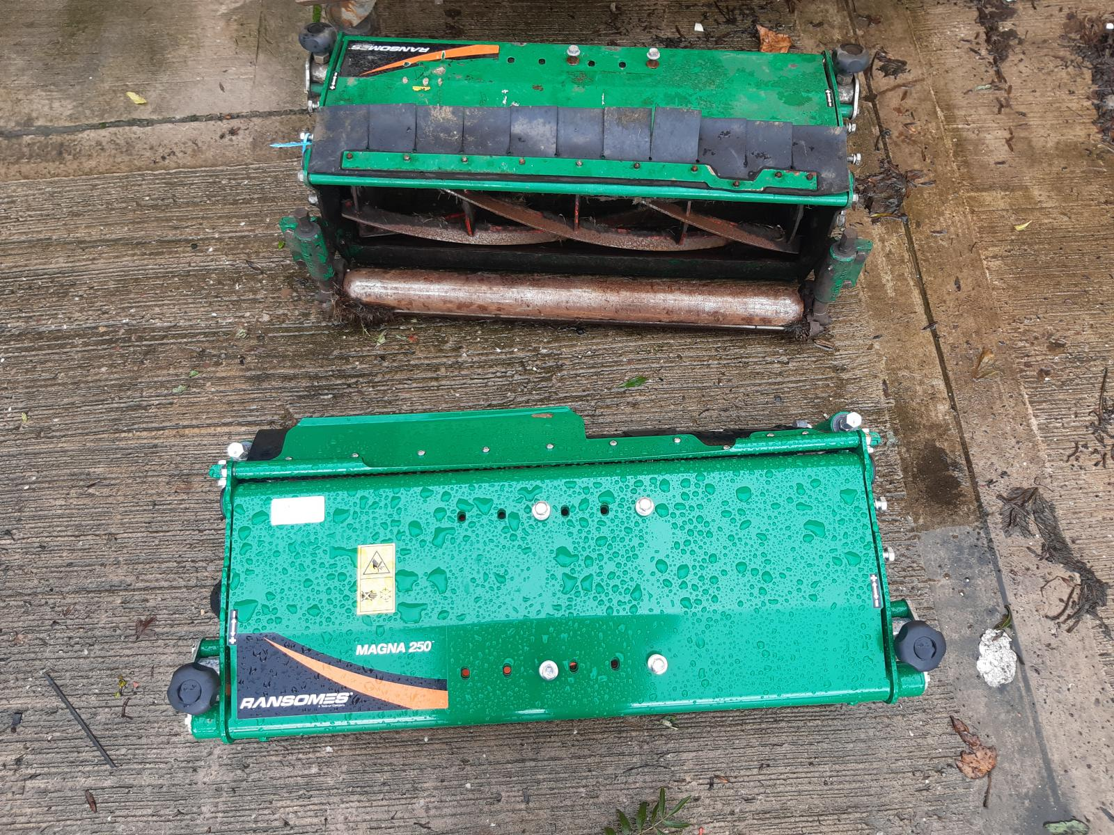 RANSOME PARKWAY MOWER HEADS
