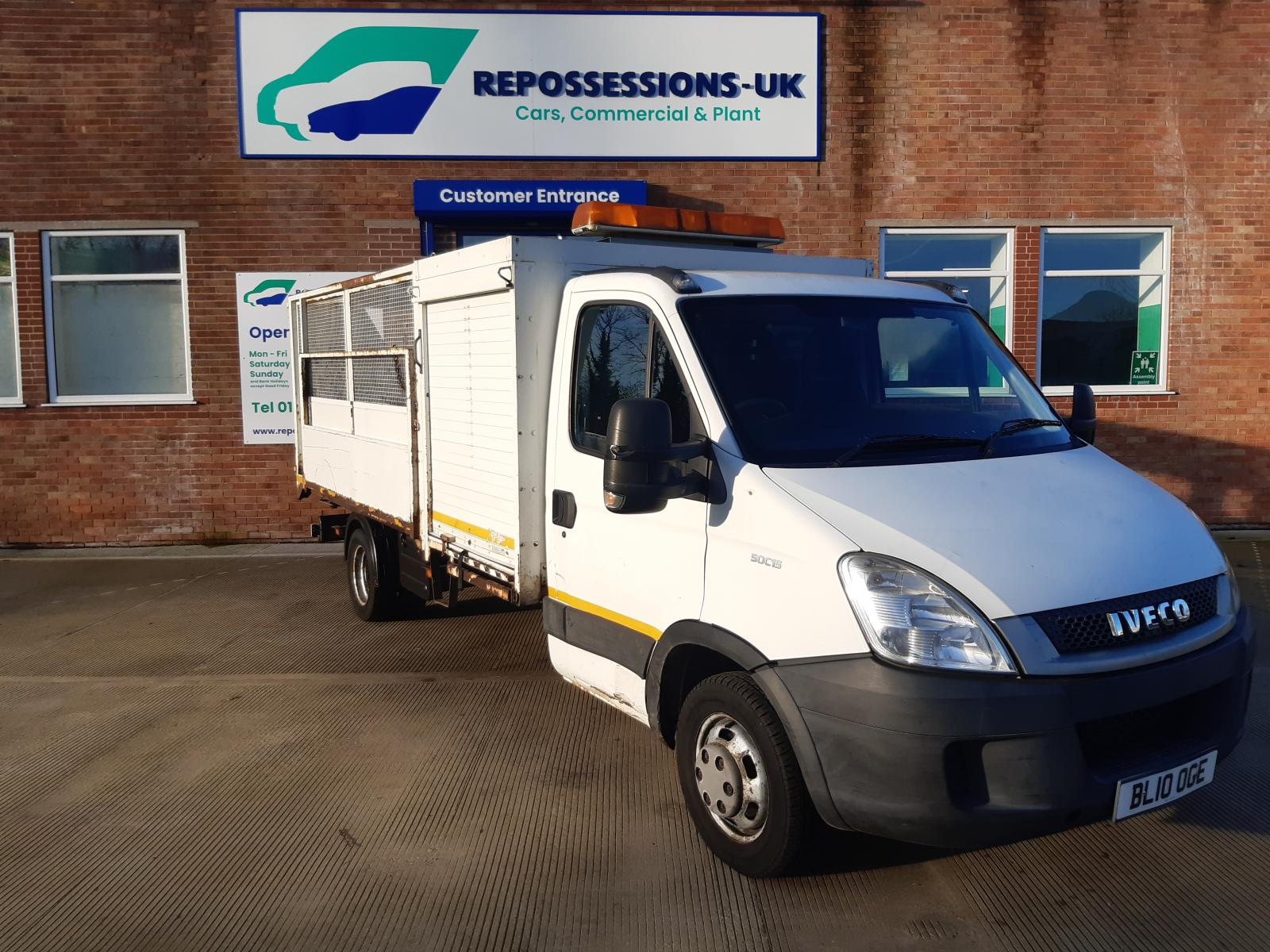 2010 IVECO DAILY MK4 (MY2009) 50C15 CAGED TIPPER